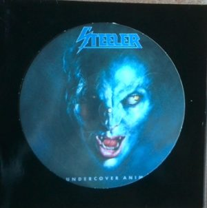 STEELER - Undercover animal - Pic.Disc      LP