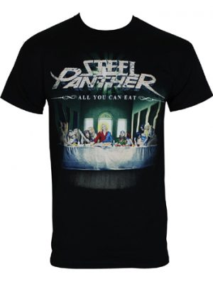 STEEL PANTHER - All you can eat - size L      T-Shirt - 100 % Baumwolle