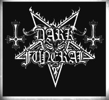 DARK FUNERAL - Logo square      Sticker