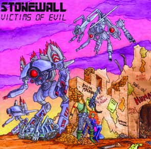 STONEWALL - Victims of evil      CD