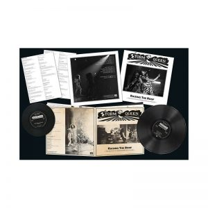 "STORMQUEEN - Raising the roof & 7""      LP"