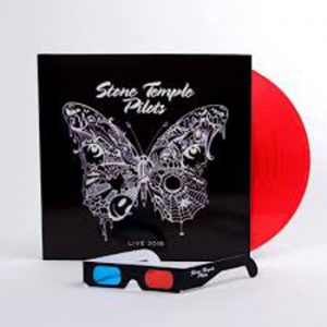 STONE TEMPLE PILOTS - Live 2018 & 3-d glasses, red vinyl      LP