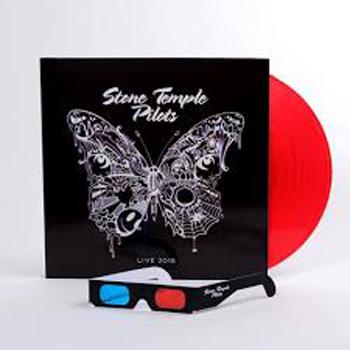 STONE TEMPLE PILOTS - Live 2018 & 3-d glasses, red vinyl      LP