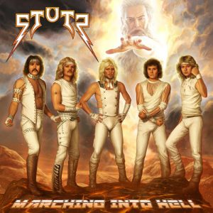 STUTZ - Marching into hell      CD