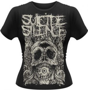 SUICIDE SILENCE - Death of Cyclops - size L      Girlieshirt - 100 % Baumwolle