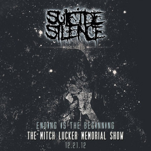 SUICIDE SILENCE - The Mitch Lucker memorial show      CD&DVD