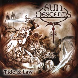 SUN DESCENDS - Tide & law      CD