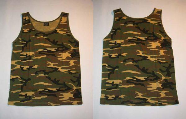 TANKTOP - Woodland - size XXL      T-Shirt - 100 % Baumwolle