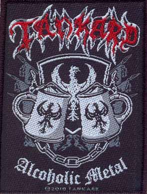 TANKARD - Alcoholic metal      Aufnäher