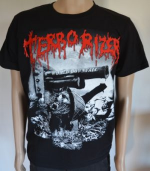 TERRORIZER - World downfall - size XL      T-Shirt - 100 % Baumwolle