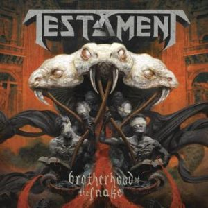 TESTAMENT - Brotherhood of the snake - digibook      CD