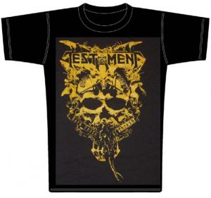 TESTAMENT - Dark roots of thrash - size L      T-Shirt - 100 % Baumwolle