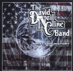 THE DAVID NEIL CLINE BAND - A piece of history      CD