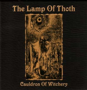 THE LAMP OF THOTH - Cauldron of witchery      Maxi CD