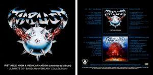 THRUST - Fist held high & Reincarnation      2-CD