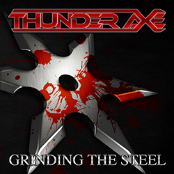 THUNDER AXE - Grinding the steel      CD