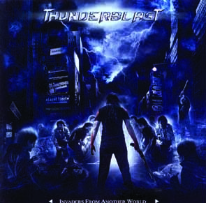 THUNDERBLAST - Invaders from another world      CD