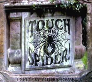 TOUCH THE SPIDER - I spit on your grave      2-CD