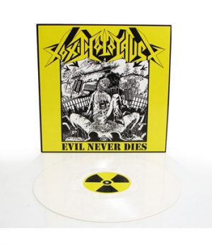 TOXIC HOLOCAUST - Evil never dies - white vinyl      LP