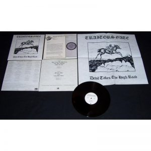 TRAITORS GATE - Devil takes the high road      LP