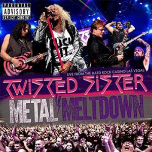 TWISTED SISTER - Metal meltdown & Bluray      CD