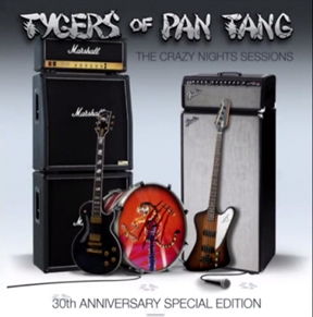 TYGERS OF PAN TANG - The crazy night sessions      CD