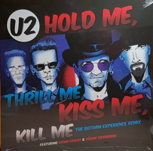 U2 - Hold me, thrill me, kiss me - RSD friday!!      12""