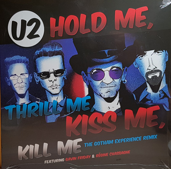 "U2 - Hold me, thrill me, kiss me - RSD friday!!      12"""
