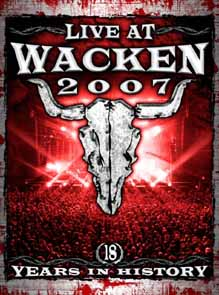 VA - Live at Wacken 2007      2-DVD
