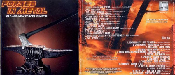 VA - Forged in metal - Old and new forces in metal      2-CD