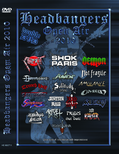 VA - Headbangers Open Air 2010      2-DVD