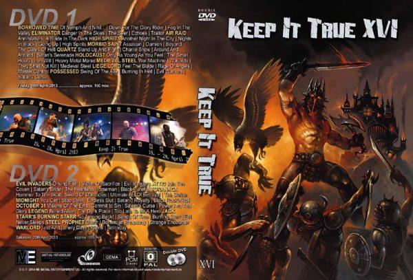 KEEP IT TRUE - KIT XVI - 2013      2-DVD