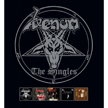 VENOM - The singles - Vinylbox      Box