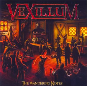 VEXILLUM - The wandering notes      CD