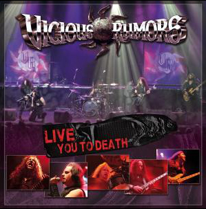 VICIOUS RUMORS - Live you to death      CD