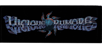 VICIOUS RUMORS - Logo      Aufnäher