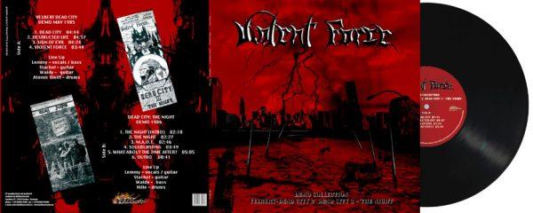 VIOLENT FORCE - Demo collection - Velbert - Dead City II & Dead City III - The night      LP