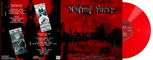 VIOLENT FORCE - Demo collection - Velbert - Dead City II & Dead City III - The night  - red vinyl      LP
