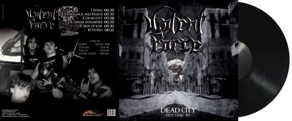 VIOLENT FORCE - Dead City - First Demo `85      MLP