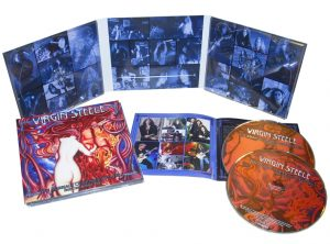 VIRGIN STEELE - The marriage of heaven and hell part one & two & bonustracks      2-CD