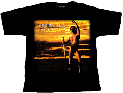 VIRGIN STEELE - Noble savage - size L      T-Shirt - 100 % Baumwolle