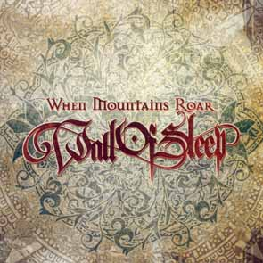 WALL OF SLEEP - When mountains roar      CD