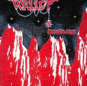 WALLOP - Metallic alps & 7 bonustracks      CD