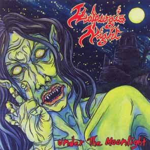 WALPURGIS NIGHT - Under the moonlight      CD