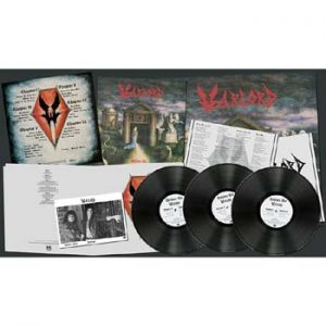 WARLORD - Deliver us & demos      3-LP