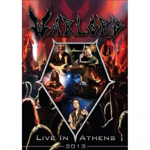 WARLORD - Live in Athens & DVD      2-CD