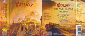 WARLORD - The holy empire & bonustrack `Aliens`      CD