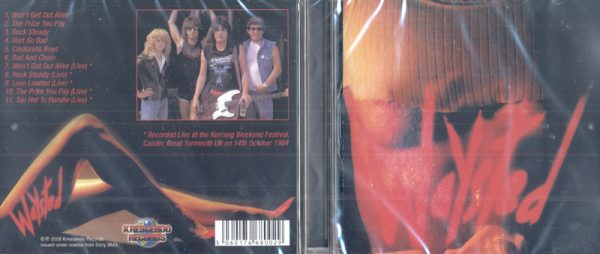 WAYSTED - Waysted plus... 5 live tracks      CD