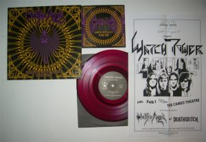 WICKED ANGEL - Chaotic intellect - purple vinyl      10""