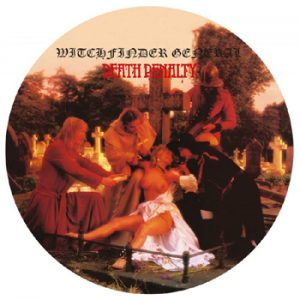 WITCHFINDER GENERAL - Death penalty      LP